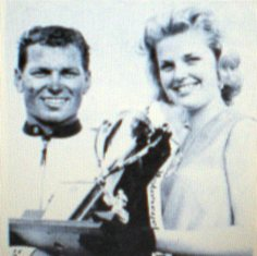 Dick Hammer, the winner of the very first AMA 250cc National Road Race held at Daytona in March of 1963.
