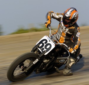 Jethro Halbert racing in 2006. (Larry Lawrence photo)