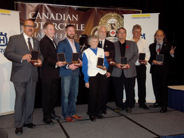 Canadian Motorcycle Hall of Fame class of 2017