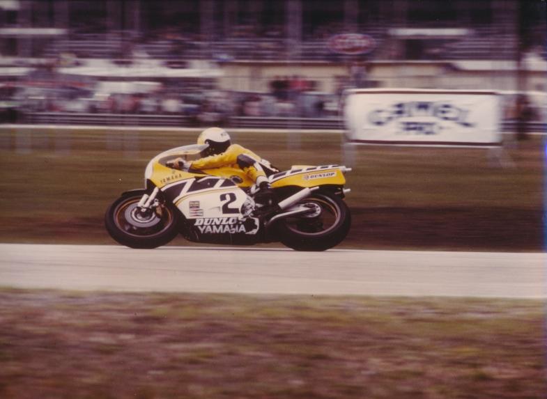 Kenny Roberts at Daytona.